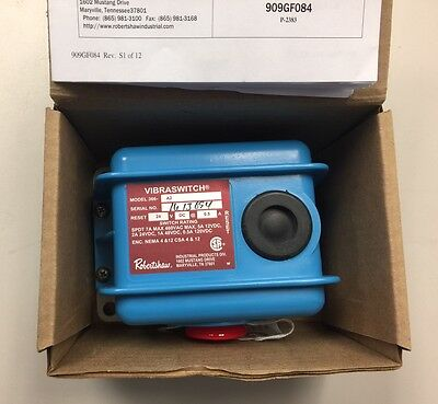 NEW ROBERTSHAW 366A2 366-A2 Vibration Switch,SPDT,0.5-7A,24VDC
