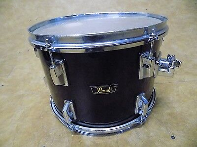 Vintage 1970's Pearl 9x13 Rack Tom Black