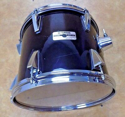 Vintage 1980's Yamaha MIJ 10x12 Stage Series Tom Black