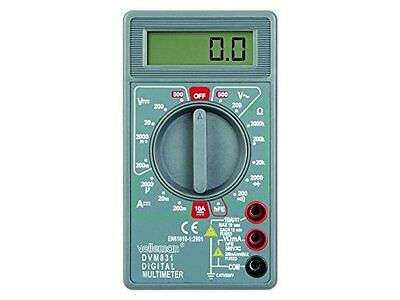 Velleman DVM831 multimeter - multimeters (126 x 70 x 27 mm) (m6h)