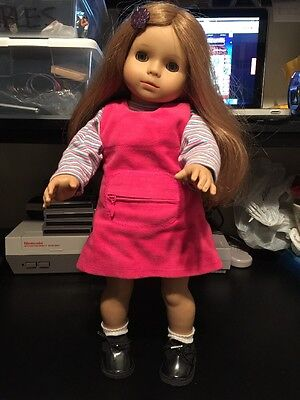 """18"""" Katie Gotz Doll Little Sister 305 American Girl Size Free Shipping Vguc"""