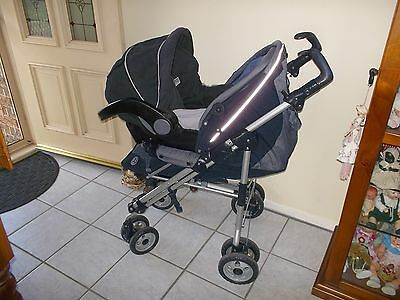 Britex Safe N Sound ( Unity ) Infant  Car  Seat  Capsule & Combo Pusher