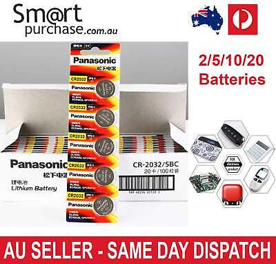 Battery PANASONIC cr2032 3v button cell coin batteries  watch computer cr 2032