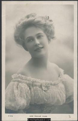 Pauline Chase (2) -1885-1962 - American actor who performed in England