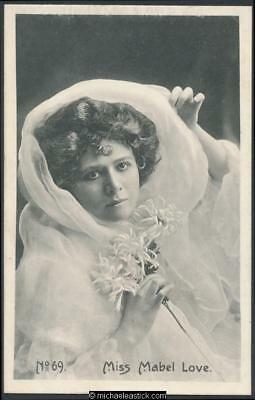 Mabel Love (11) - English actress in musical theatre 1874-1953