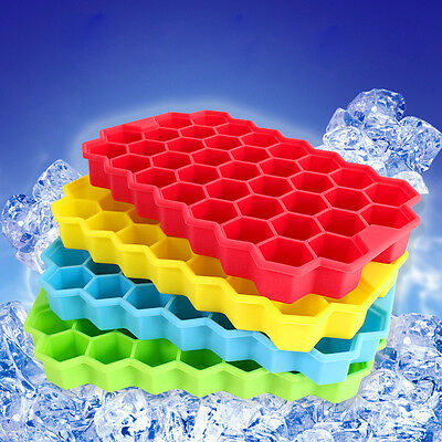 Silicone Honeycomb Shape Ice Cube Trays Ice Mould Ice Mold Pudding Jelly Maker