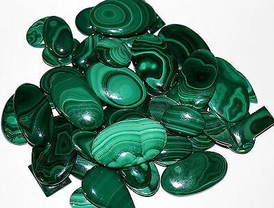 Wholesale Lot 250.00Ct 100%Natural Malachite Multi Shape Cabochon Loose Gemstone