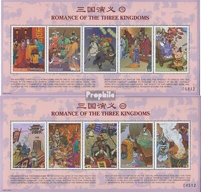 Micronesia 765-770Klb 2 Sheetlet unmounted mint / never hinged 1999 Chinese Lite