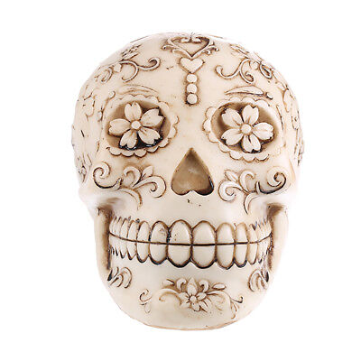 Lifesize Replica Hand-carved Model Skull Figurine Man Head Medical Skeleton