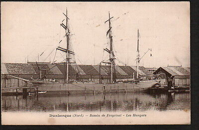 Ac1018  Transportation Shipping Sailing Ships Schooners In Harbour  2X Postcard