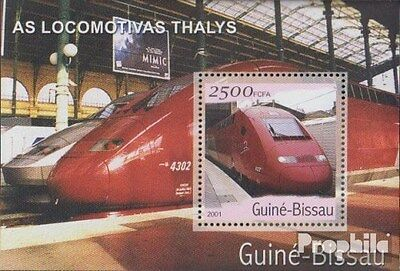 Guinea-Bissau Block364 unmounted mint / never hinged 2001 Transportation- and Tr