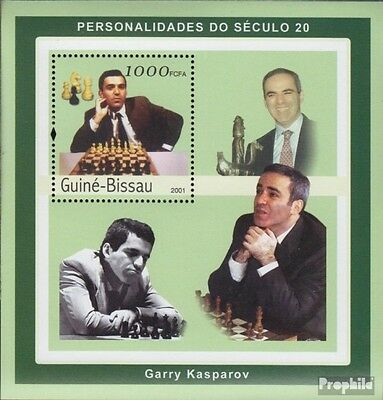 Guinea-Bissau 1961 Sheetlet unmounted mint / never hinged 2001 Personalities of