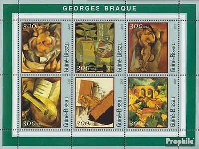 Guinea-Bissau 1600-1605 Sheetlet unmounted mint / never hinged 2001 Monet-Painti