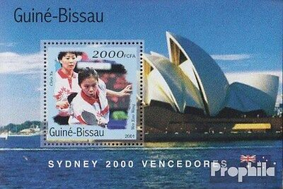 Guinea-Bissau block312 unmounted mint / never hinged 2001 Medalists Olympia 2000