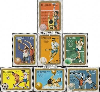 Nicaragua 2522-2528 unmounted mint / never hinged 1984 Olympics Summer 1984