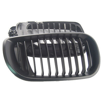 Black Kidney Grilles for BMW E46 3 Series 2002-2005 Facelift Only Saloon Touring