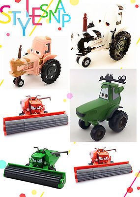 Disney Pixar Mater FRANK & Tractor Series 1:55 Toy Cars Loose New In Stock