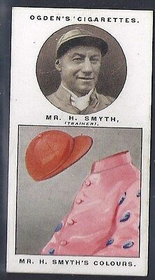 Ogdens-Steeplechase Trainers & Owners Horse Racing Colours-#41- Smyth