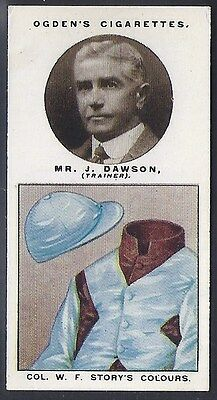 Ogdens-Trainers & Owners Horse Racing Colours (1St Series)-#11- Dawson