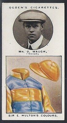 Ogdens-Trainers & Owners Horse Racing Colours (1St Series)-#23- Waugh