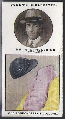 Ogdens-Trainers & Owners Horse Racing Colours (2Nd Series)-#23- Pickering
