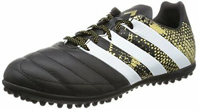 TG. 40 EU adidas Ace 16.3 TF Leather Scarpe da Calcio Uomo Nero Core V3d
