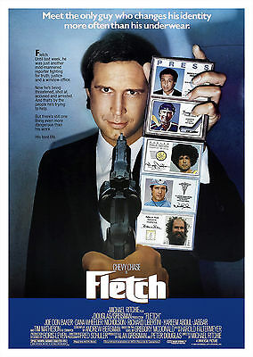 Fletch (1985) - A1/A2 POSTER **BUY ANY 2 AND GET 1 FREE OFFER**