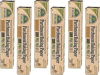 6 x IF YOU CARE Parchment Baking Paper Rolls 19.8m x 33cm ( total 6 rolls )