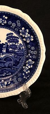 "Blue Copeland Spode's Tower - 7.75"" Salad Plate - Old Mark - Minty!"