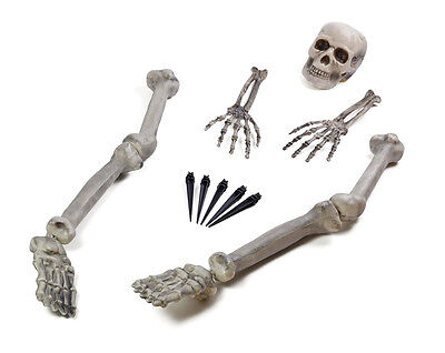 Skeleton Ground Breaker Buried Bones Halloween Garden Decoration Party