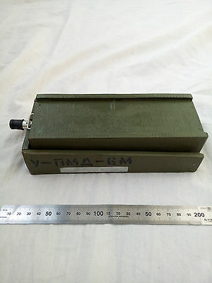 PMD-6m INERT  landmine wooden Replica USSR antipersonnel mine booby trap
