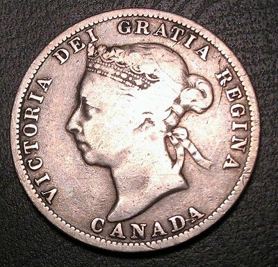 Old Canadian Coins Rare 1886 Key Canada Twenty Five Cents Free Shipping Us  Ca