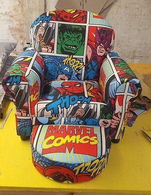 childrens character chair sofa upholstered bespoke high quality made to last