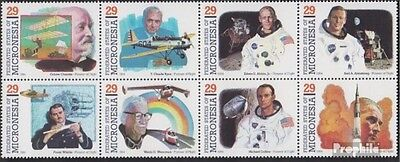 Micronesia 344-351 eighth block unmounted mint / never hinged 1994 Pioneers the