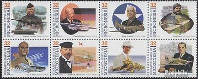 Micronesia 452-459 eighth block unmounted mint / never hinged 1996 Pioneers the