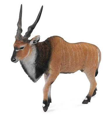 CollectA Wildlife Giant Eland Antelope Toy Figure - Authentic Hand Painted Model