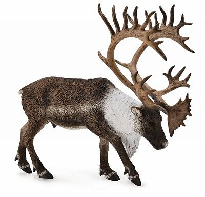 CollectA Woodlands Caribou Toy Figure - Authentic Hand Painted Model