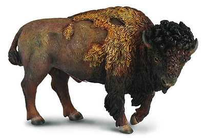 CollectA Wildlife American Bison Toy Figure - Authentic Hand Painted Model