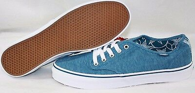 72f88fff84 NEW Womens VANS Camden Stripe Blue White Classic retro Sneakers Shoes