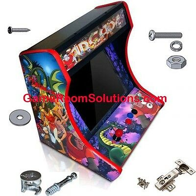 MDF Table Top Arcade Cabinet -  Pick Control Panels! Quick Assembly Cam Lock Inc