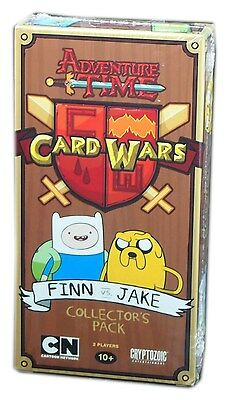 Cryptozoic Games Adventure time Card Wars LCG, Finn Vs. Jake Collector's pack