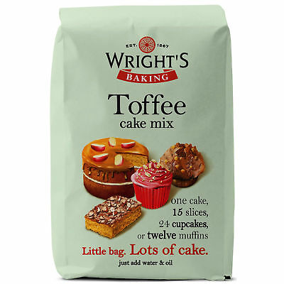 GR Wrights Toffee Cake Mix - 5x500g