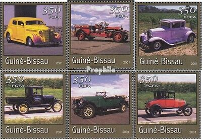 Guinea-Bissau 1731-1736 unmounted mint / never hinged 2001 Transportation- and T