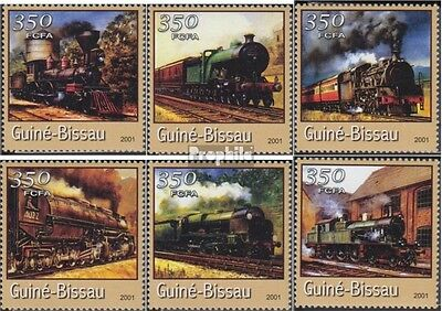 Guinea-Bissau 1719-1724 unmounted mint / never hinged 2001 Transportation- and T