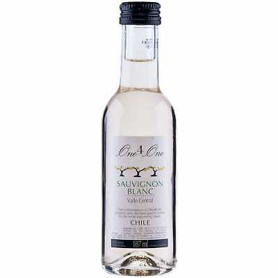 Chilean Sauvignon Blanc White Wine Quarter Bottles - 24x187ml