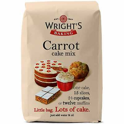 GR Wrights Carrot Cake Mix - 5x500g