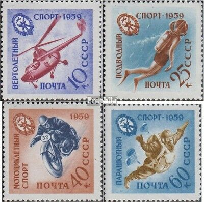 Soviet-Union 2280-2283 unmounted mint / never hinged 1959 Army, air force and Fl