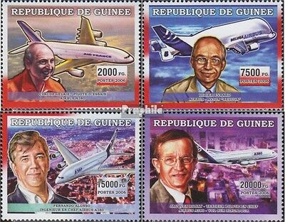 Guinea 4493-4496 unmounted mint / never hinged 2006 Transportation: Aviation