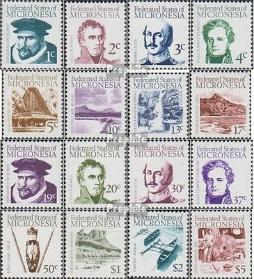 Micronesia 5-20 unmounted mint / never hinged 1984 Sailor, Landschften and Cultu