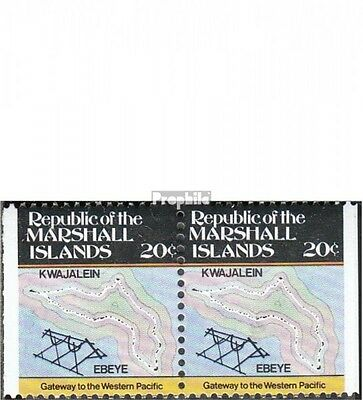 Marshall-Islands 9-10 Dl,Dr unmounted mint / never hinged 1984 Inselkarten